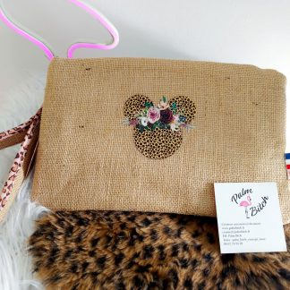 Pochette MINNIE ANIMAL