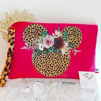 Pochette MINNIE CROCO